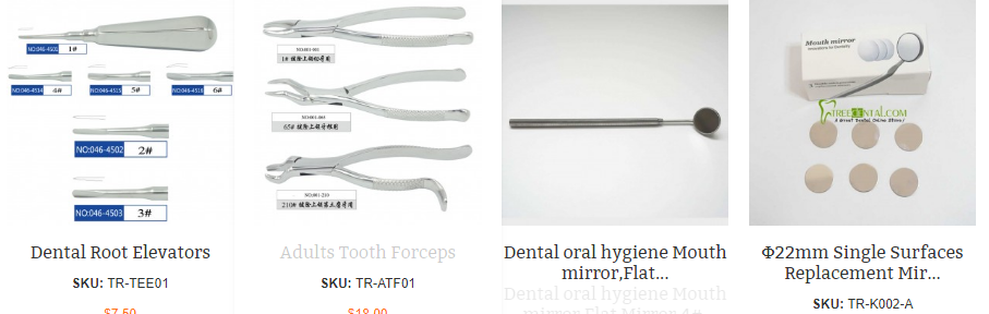 Medical and dental instruments | Transmanna International Inc